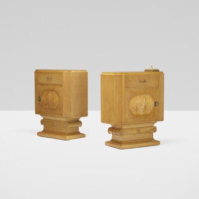 T.H. Robsjohn-Gibbings, 'consoles from Casa Encantada, Bel Air, pair', 1937