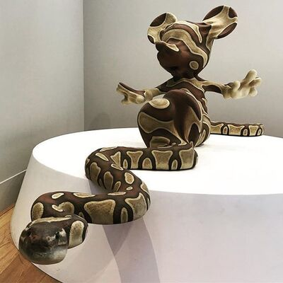 Banksy, 'Mickey Snake', 2015