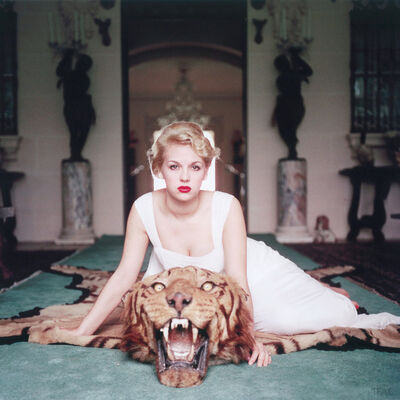 Slim Aarons, 'Beauty and the Beast', 1959