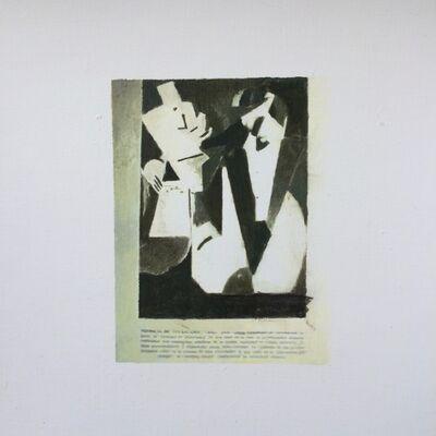 Juan Araujo, 'Stravinsky portrait / Albert Gleizes', 2017