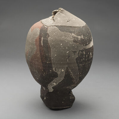 Paul Soldner, 'Raku Fired Vessel', 1970s