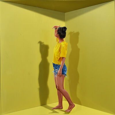 John Geoffrey Sánchez, 'Barequera 4', 2020