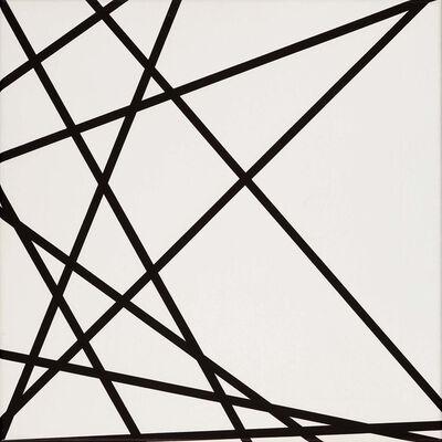 François Morellet, '10 Lignes au Hasard', 1975