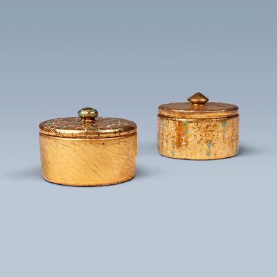 Jens Thirslund, 'Set of two rare earthenware bonbonnières', 1920-1929
