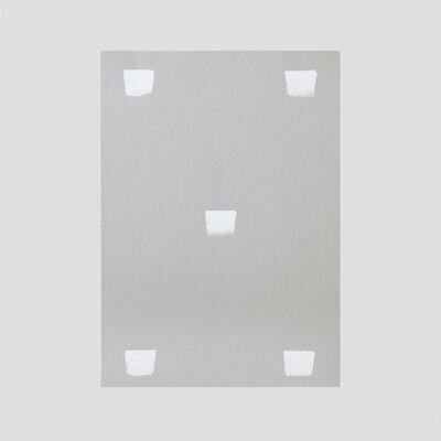 Niele Toroni, 'Impronte di pennello n.50 a intervalli di 30 cm', 1999
