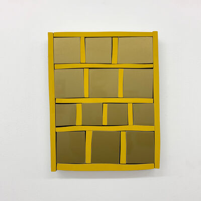 Andrew Zimmerman, 'Mayan Yellow Grid', 2019