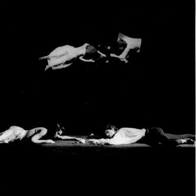 Claudio Abate, 'Romeo e Giulietta - Compagnia l'Attico (Argento e Rinaldi)', 1980s