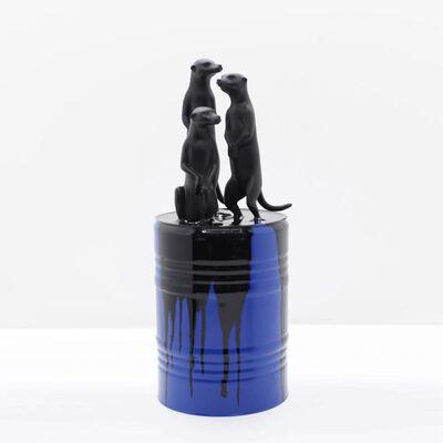 Mauro Corda, 'MEERKATS – BLUE', 2020