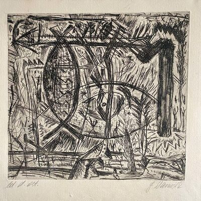 Gunter Damisch, 'Untitled', c.1980s