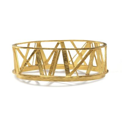 Alexandra Watkins, 'Bridge Crossing Gold Bangle', 2017