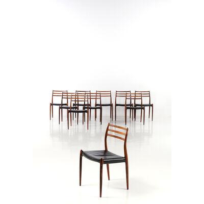 Niels Otto Møller, 'Series of ten chairs - Modèle n°7273', 1950
