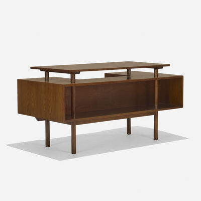 Milo Baughman, 'desk, model 1625', c. 1955