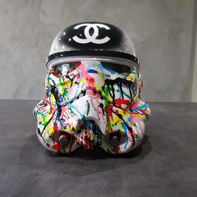 Auguste, 'Stormtrooper Addict Chanel', 2018