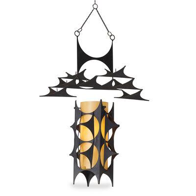 John Risley, 'Pendant lamp and candelabrum', 1970s