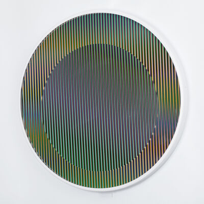 Carlos Cruz-Diez, 'Chromointerference manipulable circulaire', 2013