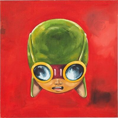 Hebru Brantley, 'FLYBOY (ReD)', 2010