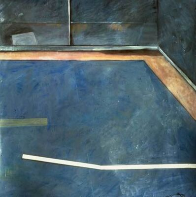 Ellen Sinel, 'Cleveland Park Swimming Pool (dimensions provided are without frame)'