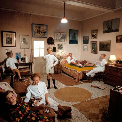 Bernard Faucon, 'Chez Tatie, Les Grandes Vacances', 1980
