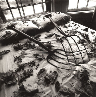 Arthur Tress, 'Making Leaves, Cold Spring, NY', 1978/1979