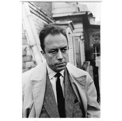 Henri Cartier-Bresson, 'Albert Camus à la N.R.F', 1966