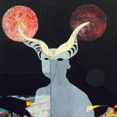 Loren Abbate, 'Irkalla and the Double Lunar Eclipse', 2017