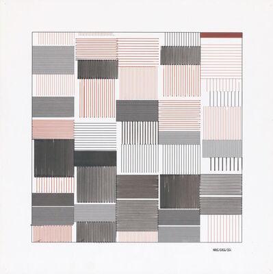Frieder Nake, 'Untitled', 1965
