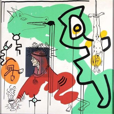 Keith Haring, 'Untitled 9 - Apocalypse', 1988