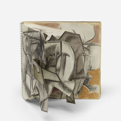 Claire Falkenstein, 'Untitled (sketchbook)'