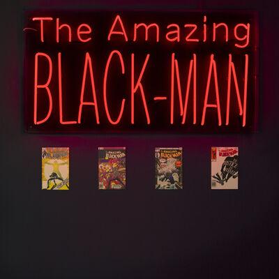 Kumasi Barnett, 'The Amazing Black Man', 2018