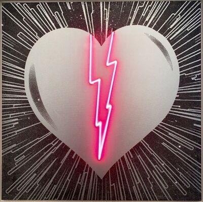Rubem Robierb, 'Neon Heart', 2017