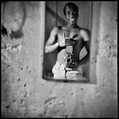 Sanlé Sory, 'Autoportrait au Miroir ', 1969