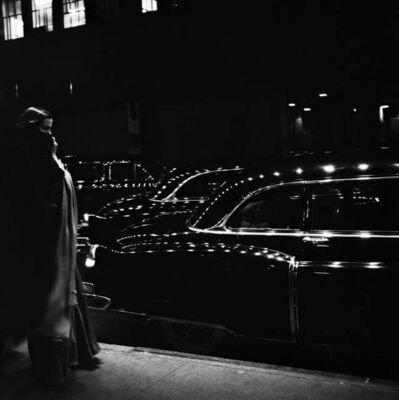 Eve Arnold, 'Outside a premiere at the Metropolitan Opera in New York, USA.', 1950