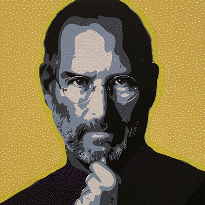 Philip Tsiaras, 'Steve Jobs', 2019