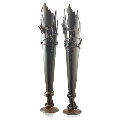 Albert Paley, 'Pair of Vulcan candlesticks, Rochester, NY', 1994