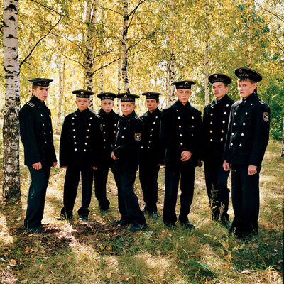 Michal Chelbin, 'Young Cadets', 2004