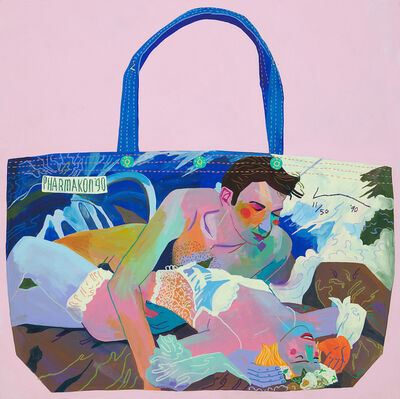 Andy Dixon, 'Jeff Koons Made in Heaven Tote (1990)', 2018