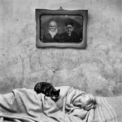 Roger Ballen, 'Portrait of Sleeping Girl', 2000