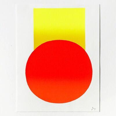 Rupprecht Geiger, 'Yellow to Orange', 2003
