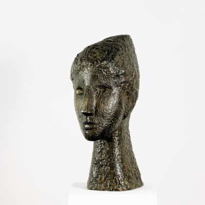 Fritz Wotruba, 'Female Head', 1946
