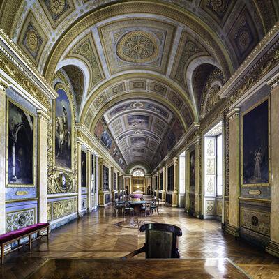 Reinhard Gorner, 'Château de Fontainbleue III Library, France', 2018