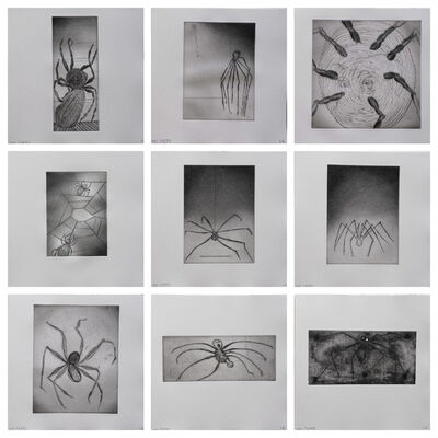 Louise Bourgeois, 'Ode A Ma Mere - portfolio (9)', Unknown