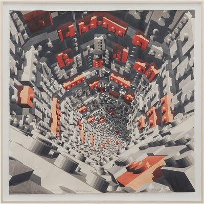 Dagoberto Rodríguez, 'Pasillo hexagonal', 2019