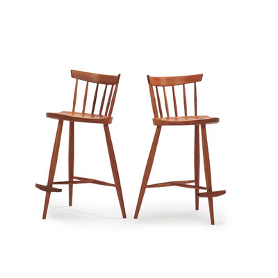 Mira Nakashima, 'Pair of Mira Chairs', 1991