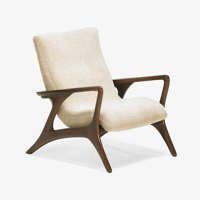 Vladimir Kagan, 'Contour lounge chair, New York'