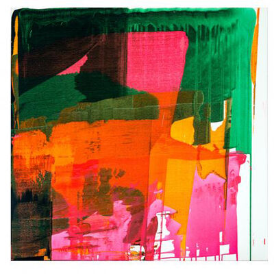 Ken Tate, 'FRANKENTHALERS MUSE  Framed 40 x 40 $4,000.00'