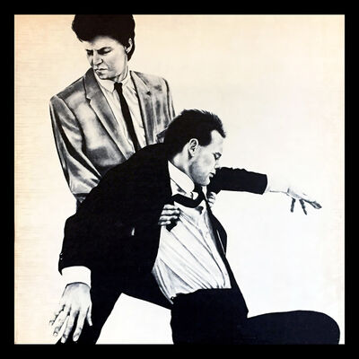 Robert Longo, 'Robert Longo Men In The Cities vinyl record art', 1981