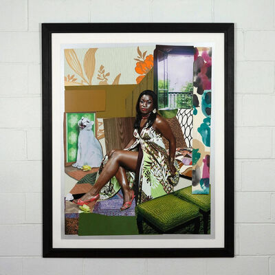 Mickalene Thomas, 'I Have Been Good to Me', 2015