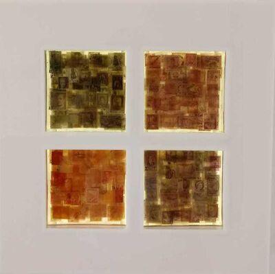 Alexandre Frangioni, 'Memória Seletiva - 4 Cores', 2018