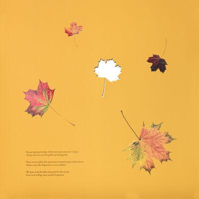 "Jimmie Durham, '""Look Ahead"" for Parkett 92', 2013"