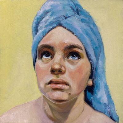 Ellen Starr Lyon, 'Blue Towel', 2020